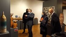 Cypriot Ambassador visits Iranian ceramic art exhibit in Tehran