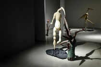 Mani Ramhormozi Sculptures on Display at A Gallery