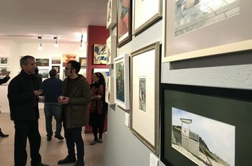 See Iranian Contemporary Art in Laleh Gallery