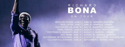 Cameroonian jazz bassist Richard Bona to give concert in Tehran