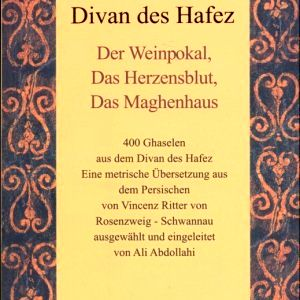 Hafez's poetry in German and Persian